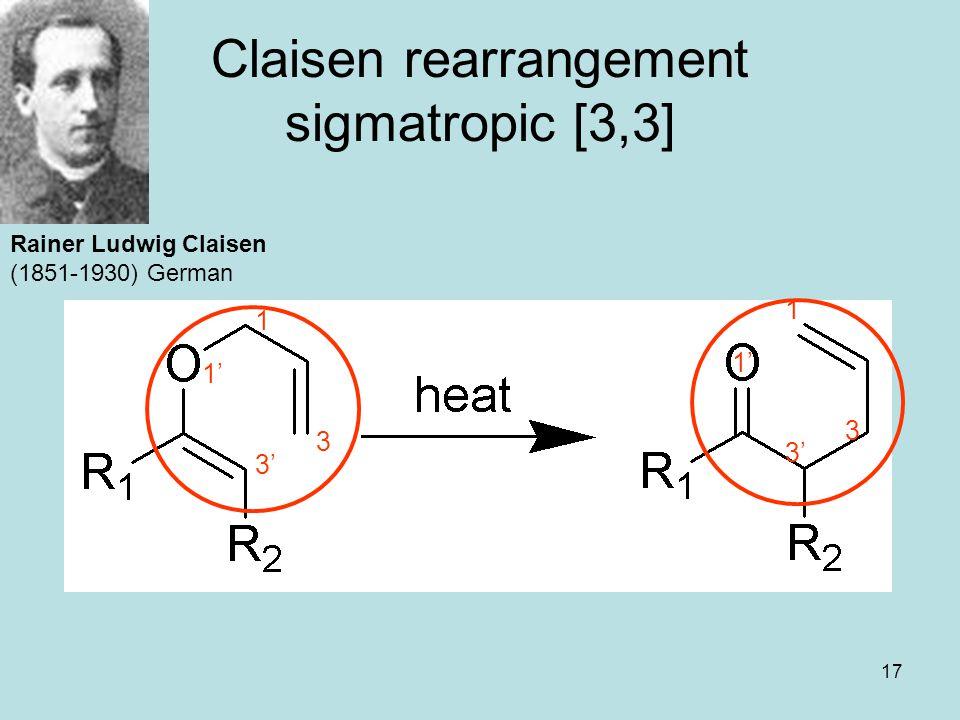 Claisen rearrangement sigmatropic [3,3]